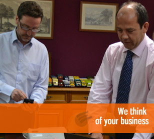 We think of your business